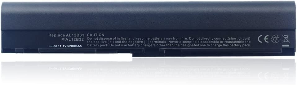 Laptop_battery 6 Cell 11.1V 5200mAh ACER Notebook Laptop Battery Replacement for ACER 756 v5-171 B113 c70 c710 AL12X32 AL12A31 AL12B31 AL12B32 Battery Ship from USA by Laptop_Battery
