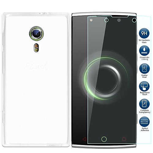 Tempered Glass Screen Protector for Alcatel One Touch Flash - 2