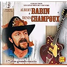 Les l??gendes du Country 2CD by Albert Babin