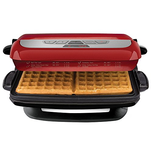 George foreman grp4842r 3 in 1 multi plate evolve grill grilling and waffle plates included - George foreman evolve grill ...