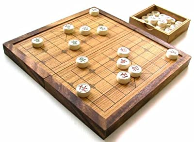 Chinese Traditional Chess Game Portable Set Handmade