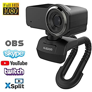 Amazon com: Webcam Full HD 1080P OBS Live Streaming Camera Computer