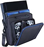 PS4 Carry Case Travel Storage Carry Case Protective Shoulder Bag Handbag for PlayStation PS4,Console and Accessories