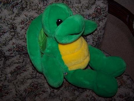 Build A Bear Turtle Retired With Backpack