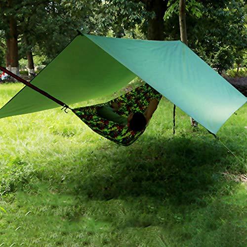 camouflage net Camping tentzeil, anti-uv-tarp voor hangmat met touwen en haringen, 210D waterdicht zeil voor tent…