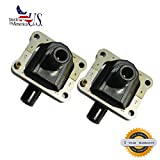 Deal Set of 2 New Ignition Coil Plug Pack For Mercedes-Benz W140 W124 W210 W202