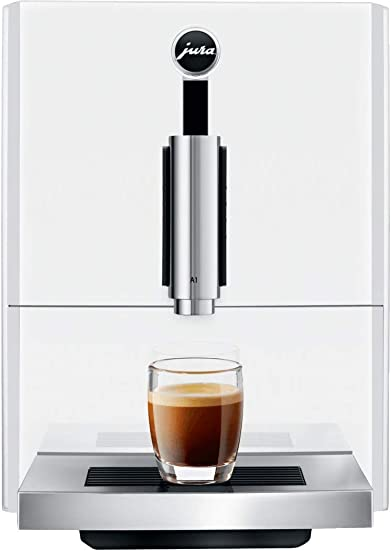 Jura A1 Automatic Coffee Machine Piano White