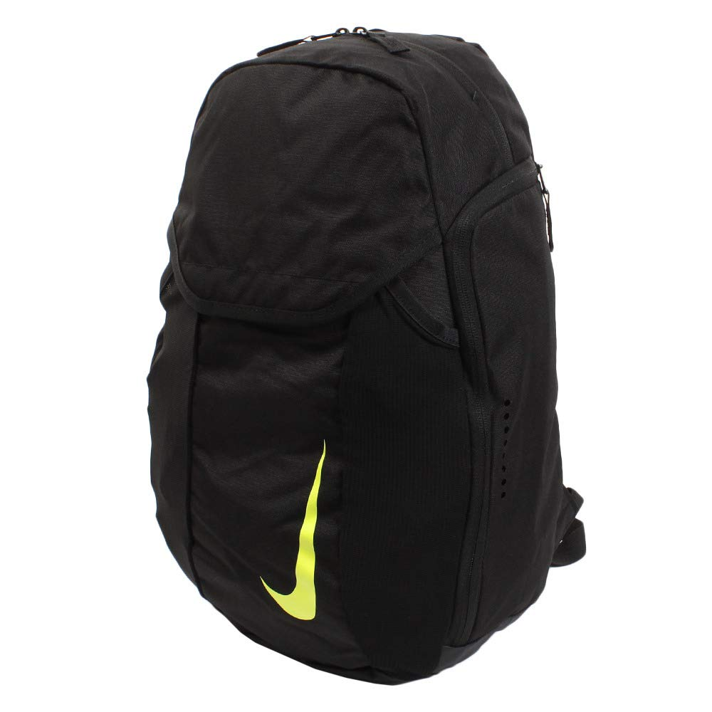 5d147e5adeb98 Amazon.com | Nike Unisex Academy Soccer Backpack, Black/Black/Volt ...