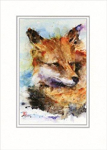 UPC 767636131118, Fox: Dean Crouser - Paper House Artist Series Blank Card