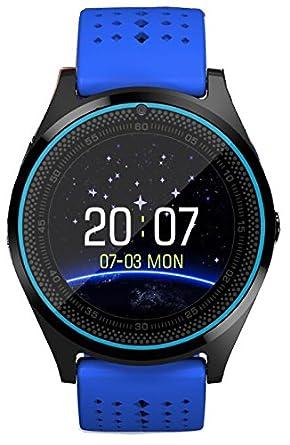 Bluetooth Smart reloj V9 con cámara Smartwatch podómetro ...