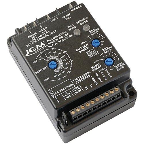 Low Ambient Control (ICM Controls ICM333 Low Ambient Head Pressure Control, 120-600 VAC; Dual Temp Or Dual Pressure Inputs)