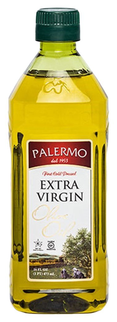 Palermo First Cold Pressed Extra Virgin Olive Oil, 16 oz.