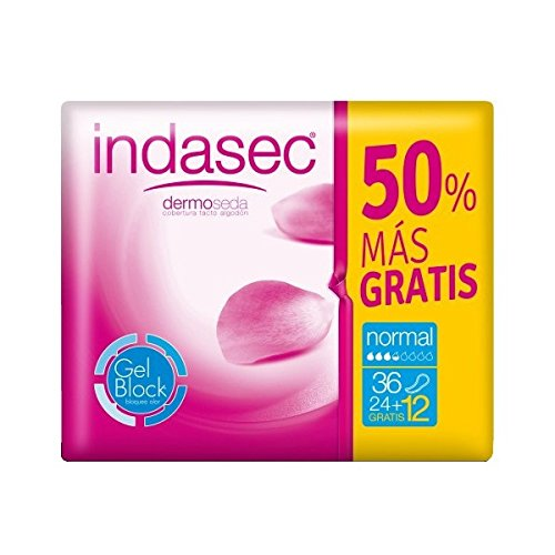 INDAS - DUO PACK INDASEC NORMAL 24+12