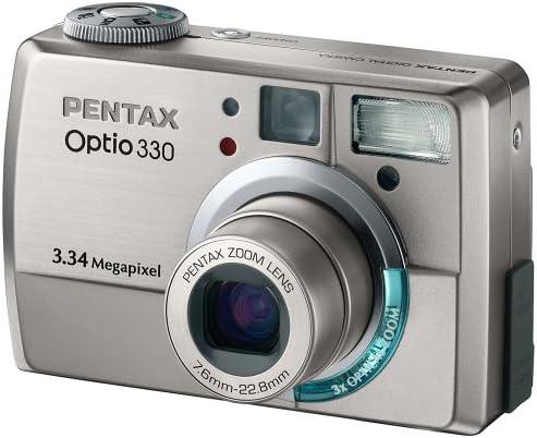 Pentax Optio 330 Digitalkamera 3 3 Megapixel