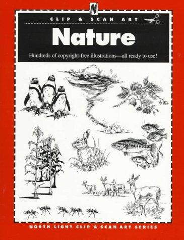 Nature (North Light Clip & Scan Art Series)
