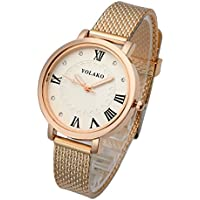 Top Plaza Womens Analog Quartz Wrist Watch