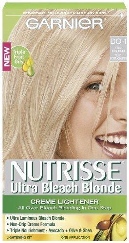 Garnier Nutrisse Couleur des cheveux, Ultra Bleach Blond Creme éclaircissant Do-1