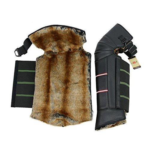 TTYY Leg Warmer Windproof Winter Thicken Outdoor Knee Protector Waterproof Outdoor Riding