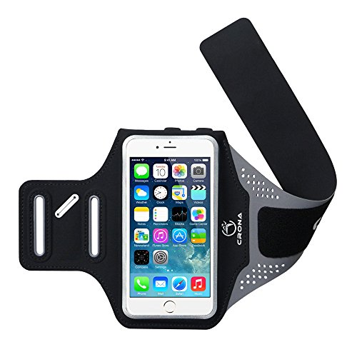 Crona Sports Armband Breathable Waterproof Workout Armband For Iphone 5 5S Se 6 6S 6Plus Samsung S5 S6 S7 Sony Z4 Z5 Etc Up To 5 5 Applicable