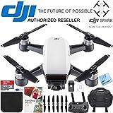 DJI Spark Alpine White Quadcopter Drone 32GB Photo Creator Bundle