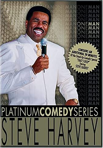Platinum Comedy Series - Steve Harvey - One Man (The Steve Harvey Show Dvd)