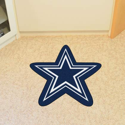 FANMATS 20967 Team Color 3' x 4' NFL - Dallas Cowboys Mascot Mat