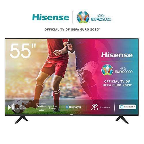 🥇 Hisense UHD TV 2020 55AE7000F – Smart TV Resolución 4K con Alexa integrada