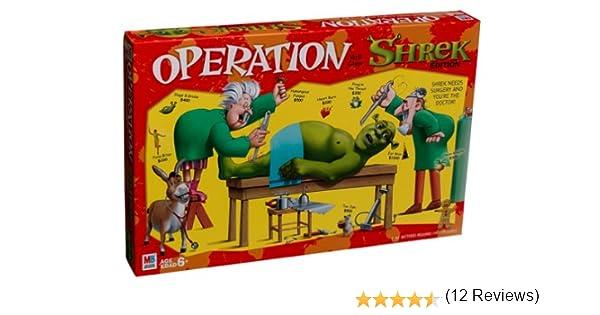 Juego de habilidad de operación – Versión Shrek: Amazon.es: Juguetes y juegos
