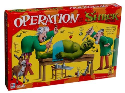 Hasbro Gaming Operation Game Shrek Edition
