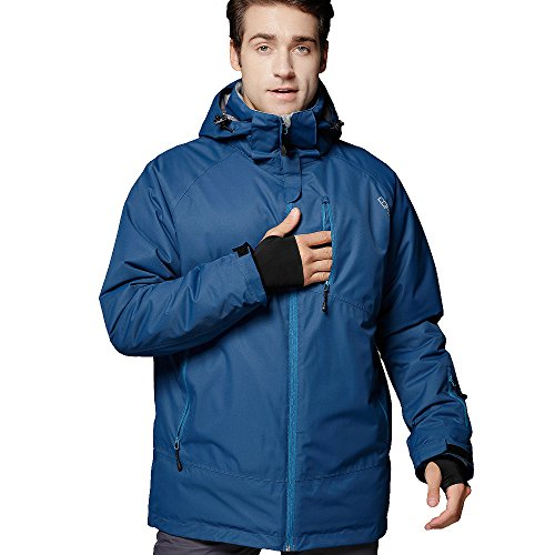 COPOZZ PRO Womens Mens Ski Jacket,Outdoor Winter Snow Snowboard Jacket,Waterproof Windproof Highly Breathable Materials,S M L XL XXL - for Men Women Girls Boys Snowboarding Skiing Snowmobile