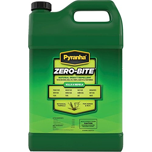 PYRANHA 001ZEROG 068263 Zero-Bite Natural Insect Repellent, 1 gallon