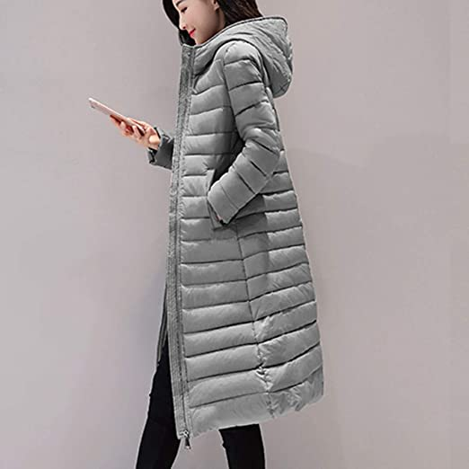 Amazon.com: Womens Coats Winter Besde Womens Fashion Casual Warm Lightweight Solid Hooded Outwear Warm Coat Long Thicker Cotton Parka Slim Jacket: Home & ...