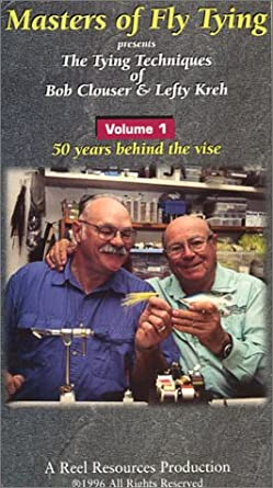 8944b2d1d84de Masters of Fly Tying Volume 1  The Tying Techniques of Bob Clouser   Lefty  Kreh