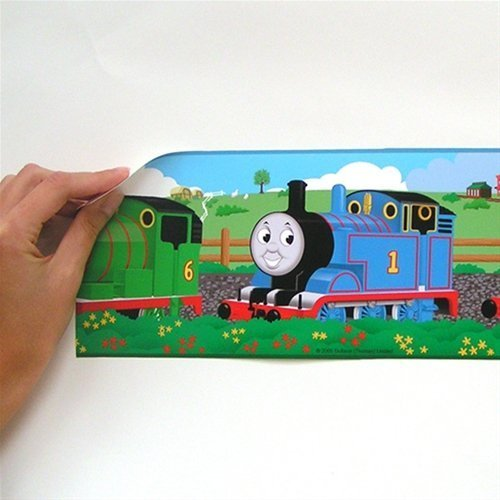 Thomas the Train - Peel and Stick - Wall Border by Store51 (Wallpaper Border Train)