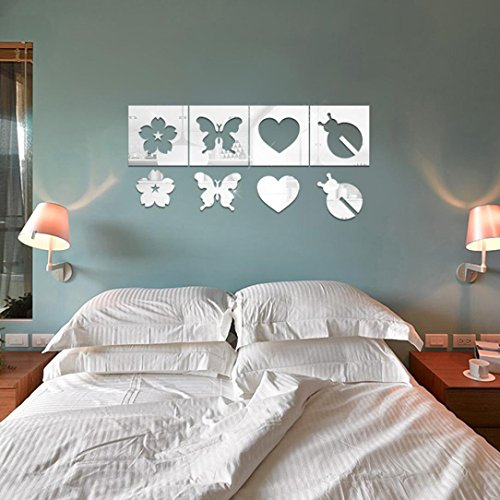 Wall Decal 3d Mural a Corner Removable Wall Stickers-60 x 90cm - 7