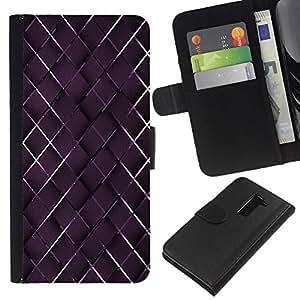 LG G2 D800 D802 D802TA D803 VS980 LS980 , la tarjeta de Crédito Slots PU Funda de cuero Monedero caso cubierta de piel ( Pattern Wallpaper Random Basketwork Art)