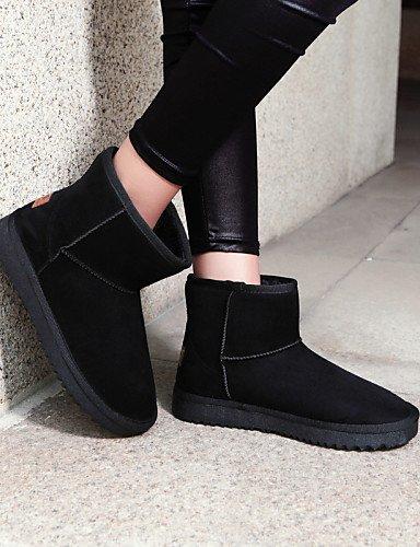 Uk6 Zapatos Tela Moda C us5 La A Mujer Marrón Eu39 Cn39 Casual Nieve Comfort Botas Tacón Brown Eu36 5 De Azul Exterior us8 negro Bajo Cn35 5 Brown Xzz Uk3 RcvxOBwdqR