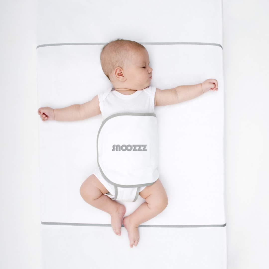 S Kinderbett und Einzelbett Snoozzz Schlafhilfe Travel f/ür die Seitenlage und Ruckeinlage Pucktuch Lagerungskissen f/ür Wiege