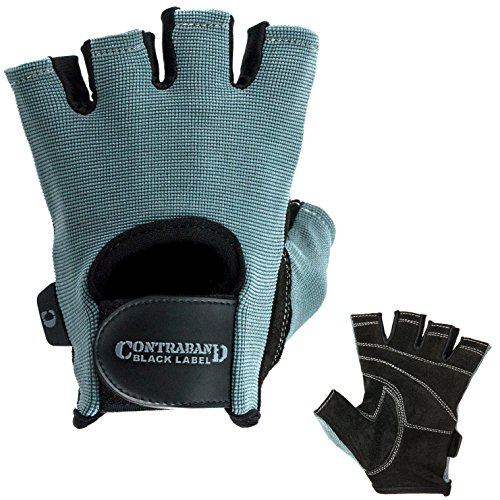 Contraband Black Weight Lifting Gloves product image