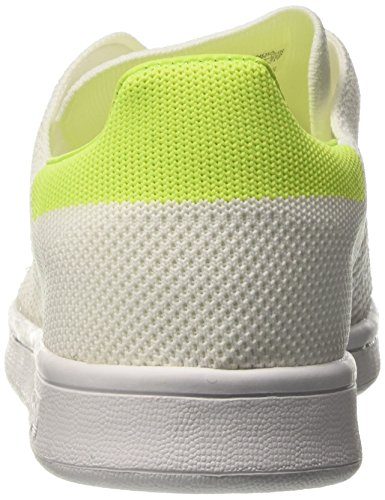 Primeknit Footwear White Blanco Adidas para Footwear Yellow Solar White Mujer Zapatillas Smith Stan zwwEqxBZ