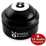 Novelty888 MYSTIC 8 BUTTON - (15 Different Audio Answers) New Generation of traditional MAGIC 8 BALL.