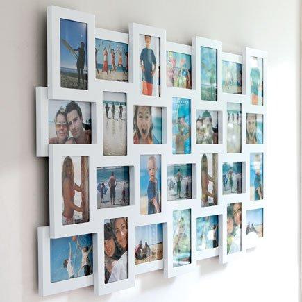studio 28 multi frame white amazoncouk kitchen home - Multiple Photo Frame