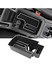 YEE PIN Seat Leon 4 MK4 2020 Handschoenenvak voor armleuning, organizer, accessoires met antislipmat, middenconsole, organizer tray