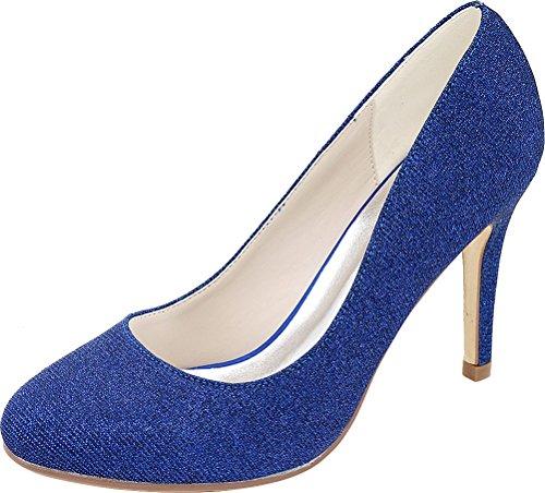 Con Zeppa Blue Donna Cfp Sandali 65wqHH