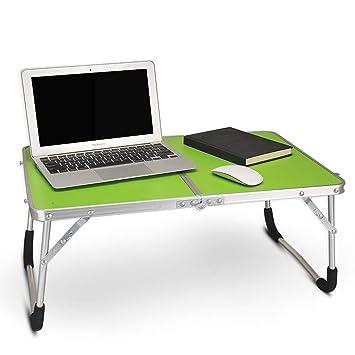 MJY Mesa de escritorio para computadora portátil Cama simple y ...