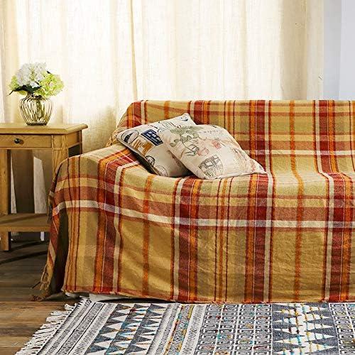 ARIESDY - Manta Acolchada Bohemia, algodón étnico Indio Reversible, Tapiz, Colcha Estampada, Colcha de sofá, Manta de Punto de Parches, 150 x 190 cm, Rayas Azules y Blancas: Amazon.es: Hogar