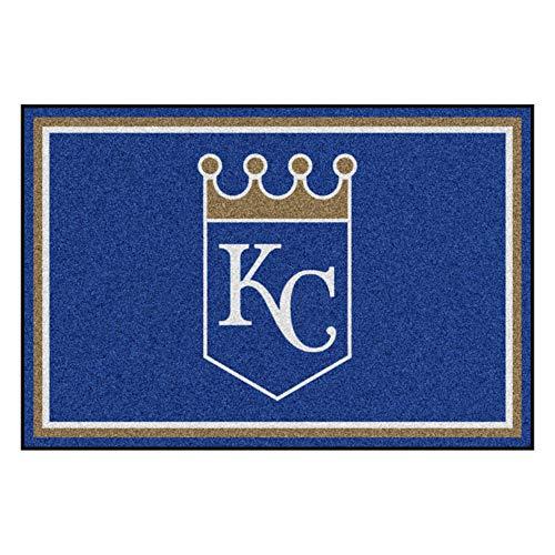 - FANMATS MLB Kansas City Royals Nylon Face 5X8 Plush Rug