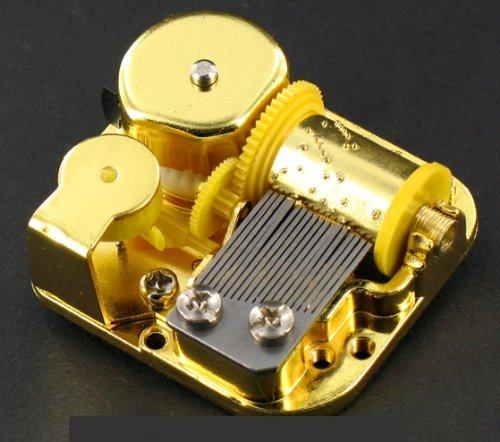 Mecanismo musical // movimiento musical de resorte de 18 l/áminas para caja de m/úsica o joyero musical Fr/éd/éric Chopin Tristesse Tristeza