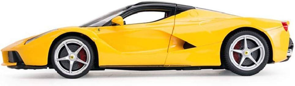 La Ferrari Rojo 50160 1//14 Escala Electric Coches RC con Carga USB ADOV Coche Teledirigido Alta Velocidad Radiocontrol Car Control Remoto Juguete Ni/ños Adultos