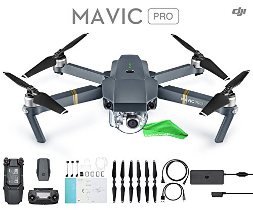 DJI Mavic Pro + DigitalAndMore Ultra Gentle Micro Fiber Cleaning Cloth